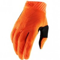 Мото перчатки Ride 100% RIDEFIT Glove [Fluo Orange/Black]