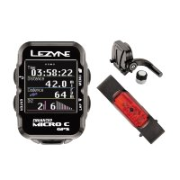 GPS компьютер Lezyne MICRO COLOR GPS HRSC LOADED Черный