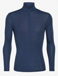 Футболка Icebreaker 175 Everyday LS Half Zip WMN ESTATE BLUE