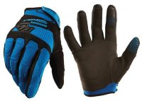 Перчатки велосипедные Royal TURBULENCE GLOVE ELECTRIC BLUE/BLACK M