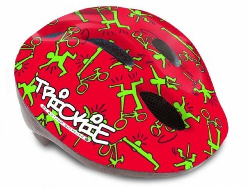 Шлем Author Trickie 49-56cm (151 red/green)