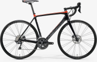 Велосипед MERIDA 2020 SCULTURA DISC LIMITED GLOSSY BLACK/RED