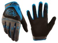Перчатки велосипедные Royal VICTORY GLOVE ELECTRIC BLUE/GRAPHITE M