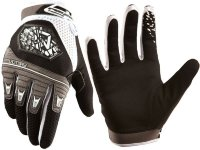Перчатки велосипедные Royal VICTORY GLOVE BLACK/WHITE/GRAPHITE M