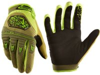 Перчатки велосипедные Royal VICTORY GLOVE OLIVE GREEN/LIME GREEN M