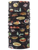 Шапка CHEF'S COLLECTION BUFF® JAPONISE BLACK