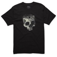 Футболка мужская Fox Genetic Premium ss Tee BLACK Large