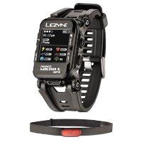 Часы Lezyne GPS WATCH HR LOADED черный