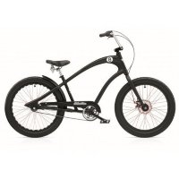 "Велосипед 24"" ELECTRA Straight 8 3i (Alloy) disc satin Black"