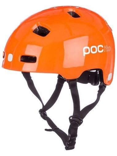 POC Pocito Crane велошлем Pocito Orange