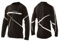 Джерси Royal SLICE JERSEY LS BLACK/WHITE M