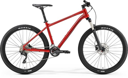Велосипед Merida BIG.SEVEN 300 METALLIC RED(DARK RED/BLACK)