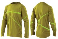 Джерси Royal SLICE JERSEY LS OLIVE GREEN/LIME GREEN M