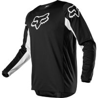 Мото джерси FOX 180 PRIX JERSEY [BLACK WHITE]