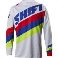 Мото джерси SHIFT WHIT3 TARMAC JERSEY white