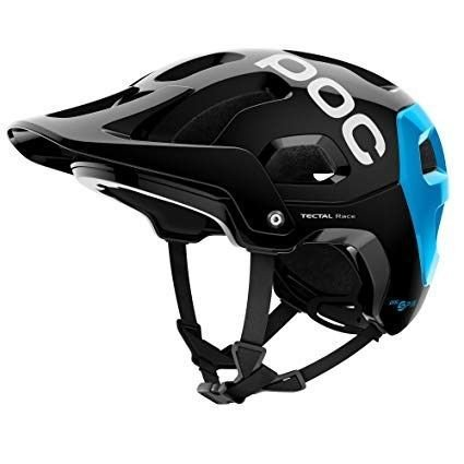 POC Tectal Race Spin велошлем Uranium Black/Radon Blue