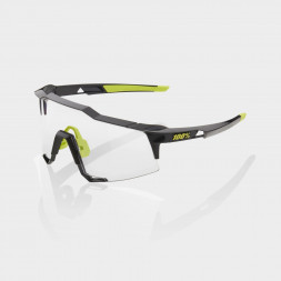 Велосипедные очки Ride 100% Speedcraft - Gloss Black - Photochromic Lens, Photochromic Lens