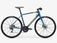 Велосипед MERIDA 2020 SPEEDER 400 SILK OCEAN BLUE(GOLD/BLACK)