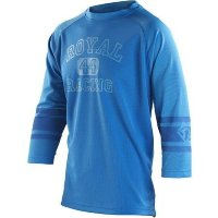 Джерси Royal ATHLETIC JERSEY 3/4 ROYAL BLUE/ELECTRIC BLUE M