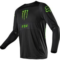Мото джерси FOX 360 MONSTER/PC JERSEY [BLACK]