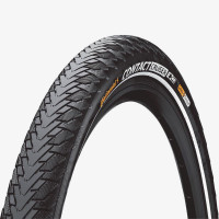 "Покрышка Continental CONTACT Cruiser Reflex, 26""x2.00, 50-559, Wire, SafetySystem Breaker, 850гр., черный"