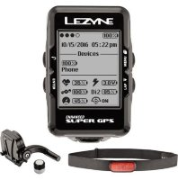 Набор Lezyne SUPER GPS HRSC LOADED черный