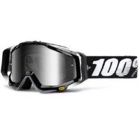 Маска RACECRAFT Goggle Abyss Black - Mirror Silver Lens