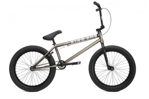 Велосипед Bmx KINK Gap XL Gloss Platinum Black Edge Fade