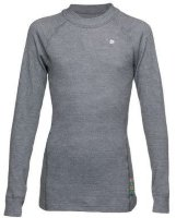 Термобелье THERMOWAVE Junior Active LS Jersey Mid-Grey Melange