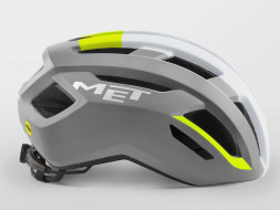 Шлем MET Vinci MIPS Gray Safety yellow | Glossy