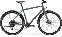 Велосипед Merida CROSSWAY URBAN 300 MATT DARK GREEN (REFLECTIVE GREEN)