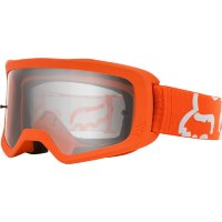 Мото очки FOX MAIN II RACE GOGGLE [FLO ORANGE], Clear Lens
