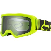 Мото очки FOX MAIN II RACE GOGGLE [FLO YELLOW], Clear Lens