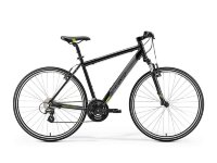 Велосипед Merida CROSSWAY 15-V METALLIC BLACK(GREEN)