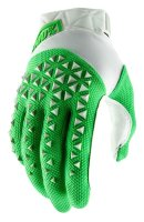 Мото перчатки Ride 100% AIRMATIC Glove [Silver/Fluo Lime]