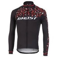 Джерси Ghost Racing Jersey Long blk/red/wht