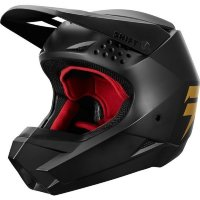 Детский мотошлем SHIFT YOUTH WHIT3 LABEL HELMET [BLK/GLD]