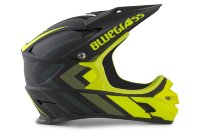 Шлем Bluegrass Intox Black Shaded Fluo Yellow | Matt