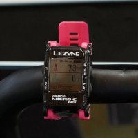 GPS компьютер Lezyne MICRO C GPS WATCH COLOR Розовый