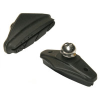 "Тормозные колодки Ashima ARS66-P-AL ""50mm Fit Shimano 105SX/RSX road 44g/pair"""
