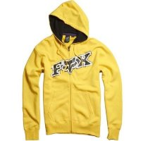 Реглан Fox Up Against Zip Front Fleece YELLOW Medium