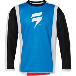 Детская мото джерси SHIFT YOUTH WHIT3 RACE JERSEY 2 [RED BLUE]
