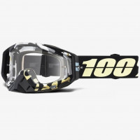 Мото очки 100% RACECRAFT Goggle Ergoflash - Clear Lens, Clear Lens