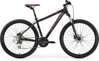 Велосипед Merida BIG.NINE 20-D MATT BLACK(RED/SILVER)