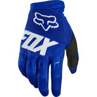 Мото перчатки FOX DIRTPAW RACE GLOVE [BLUE WHITE]