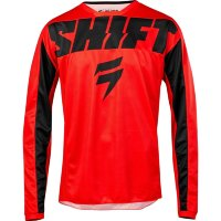 Детская мото джерси SHIFT YOUTH WHIT3 YORK JERSEY [RED]