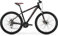 Велосипед Merida BIG.SEVEN 20-MD MATT BLACK(RED/SILVER)